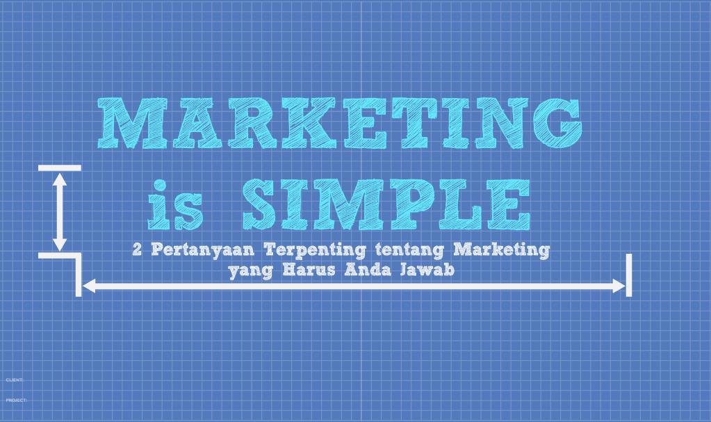 Marketing is Simple